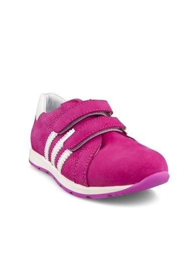 Cicibebe Nubuk Kız Çocuk Ayakkabısı Fuşya